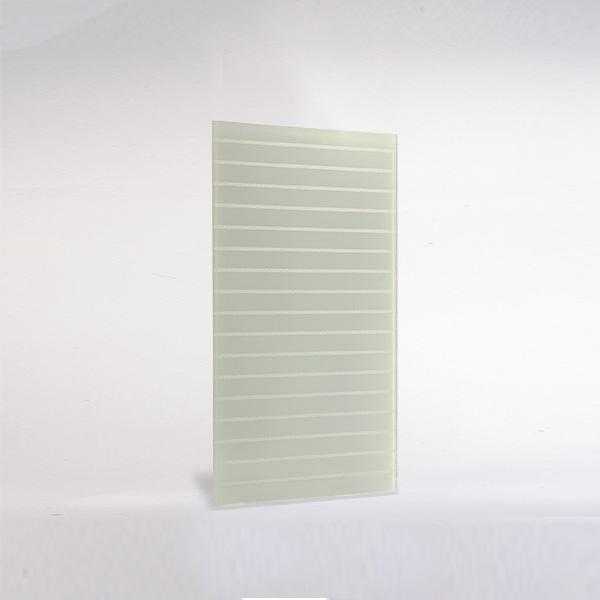 Glas für Möbel - keramischer Siebdruck - Strukturglas